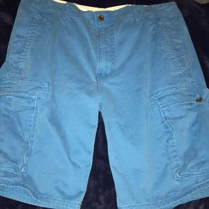 Men's blue Levi cargo shorts